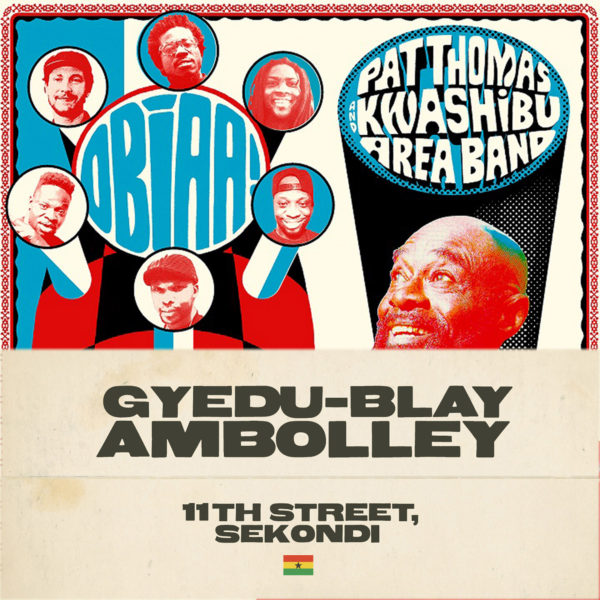 Pat Thomas & Gyedu-Blay Ambolley: New Music from Ghana Masters