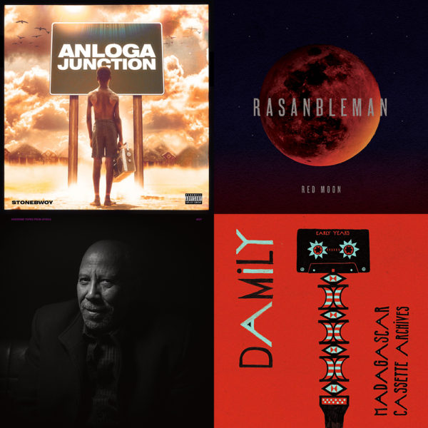 May Potpourri: Paul Beaubrun, Bai Kamara Jr., Stonebwoy, Hailu Mergia, Archie Shepp and Damily