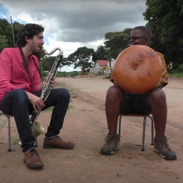 """Oran Etkin and Musekiwa Chingodza Perform """"Nhema Musasa"""" As Clarinet-Mbira Duet"""
