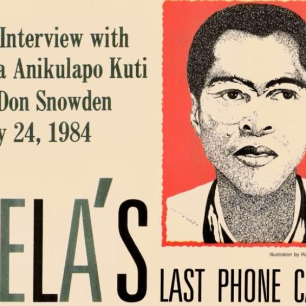 Best of The Beat on Afropop: Fela's Last Phone Call (1984)