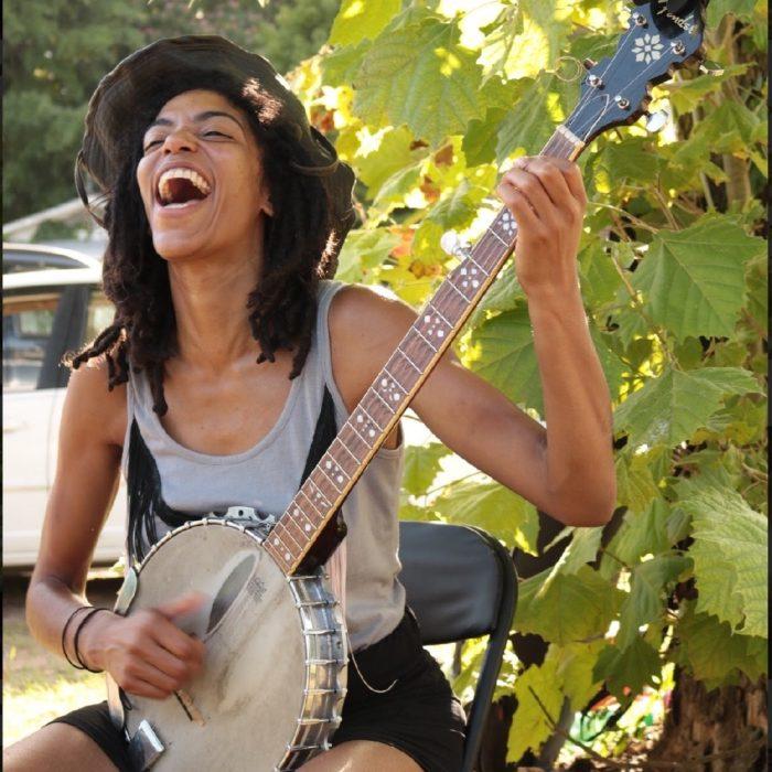 Black Banjo Reclamation Project's Hannah Mayree