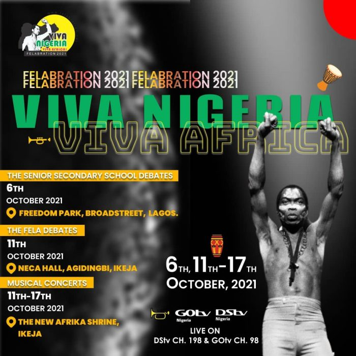 Live From Ikeja, It's Felabration 2021 This Week