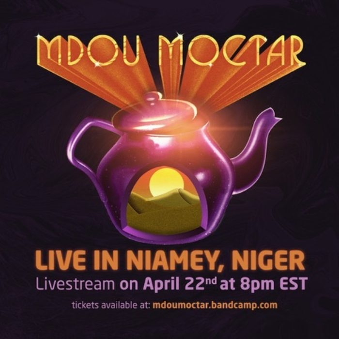 "Mdou Moctar Previews 4/22 Concert Stream With Live Performance of ""Afrique Victime"""