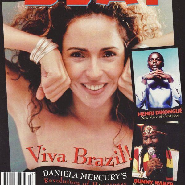 Best of The Beat on Afropop: Brazil's Daniela Mercury