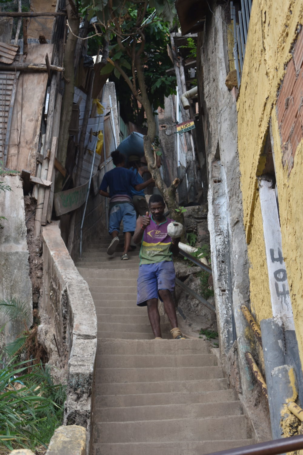 The staircase to Roots Ativa