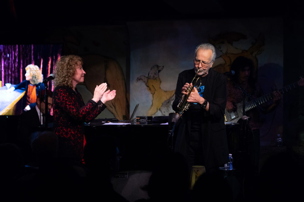 Lani and Herb at Cafe Carlyle (Eyre 2018)