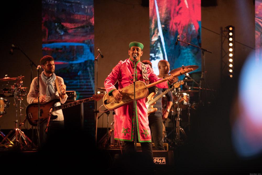 Maalem Hamid Lksri. Photo Credit: Festival Gnaoua et Musiques du Monde