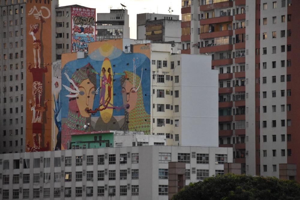 Downtown Belo Horizonte street art