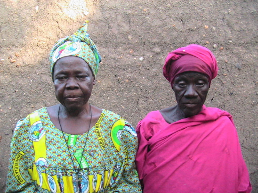 The 80-year-old Djabou sisters.