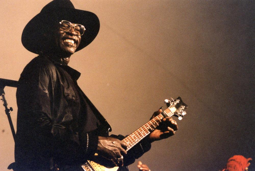 Ali Farka Toure's last U.S. show, Smithsonian Folklife Festival, 2003