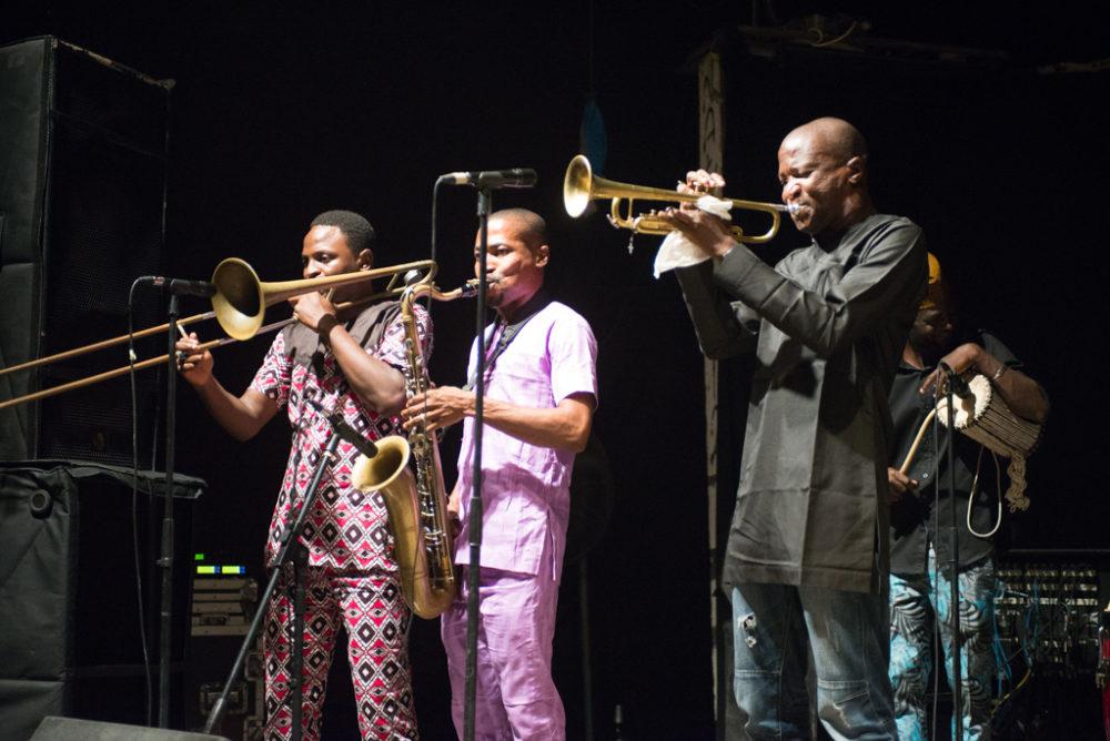 Bantu onstage in Freedom Park (Eyre 2017)