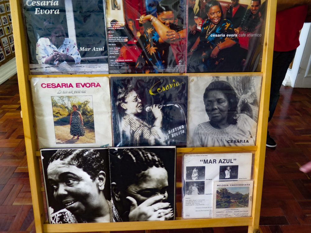 From a museum exhibit on Cesaria in Mindelo (BE)