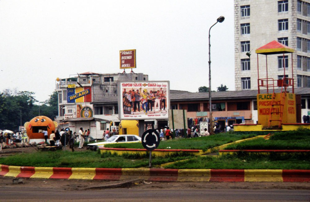 Place Victoire, Matonge, 1987