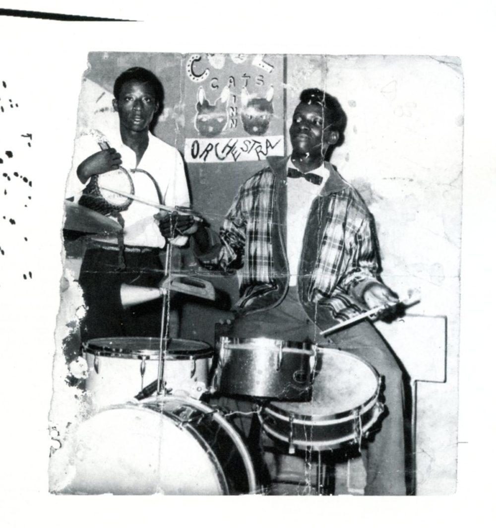 Tony with Victor Olaiya's Cool Cats