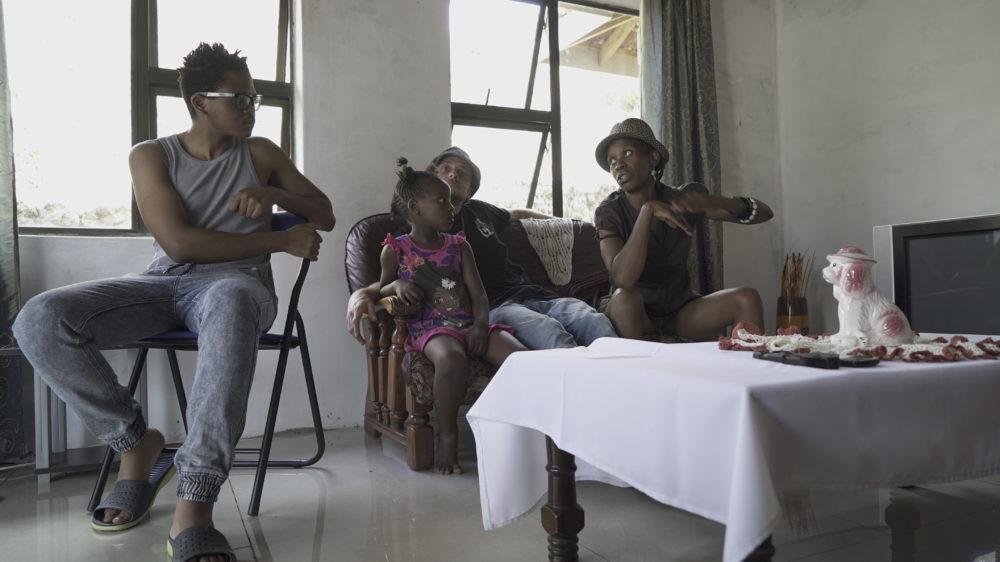 Citizen Boy (far left) pictured above in Durban. Photos by Tommaso Cassinis x Crudo Volta.