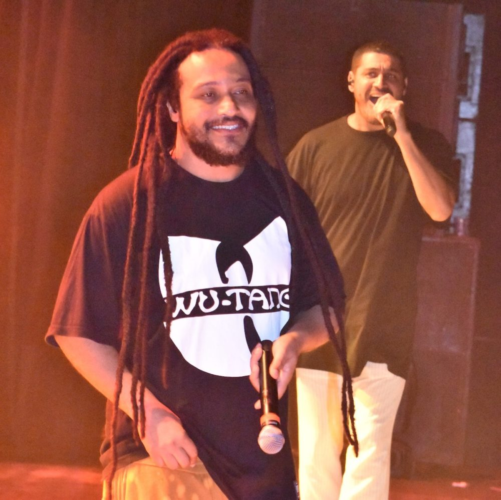 DJ Dandan (left) and Criolo
