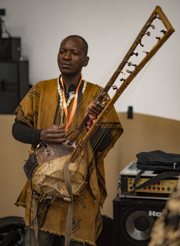 Youssouf Diaba Diarra on the two-sided kamelengoni