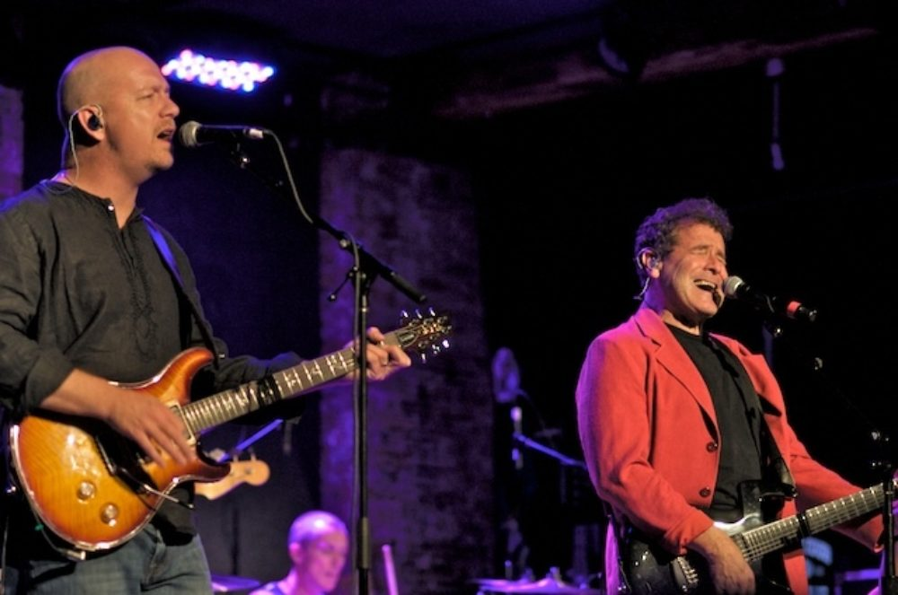Andy Innes and Johnny Clegg (Eyre 2011)