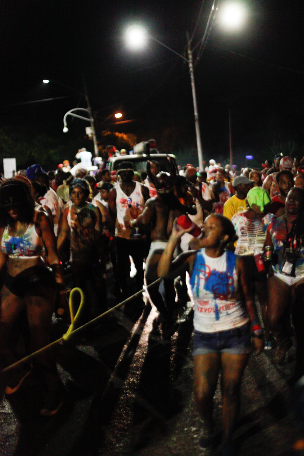 J'Ouvert begins in the darkness