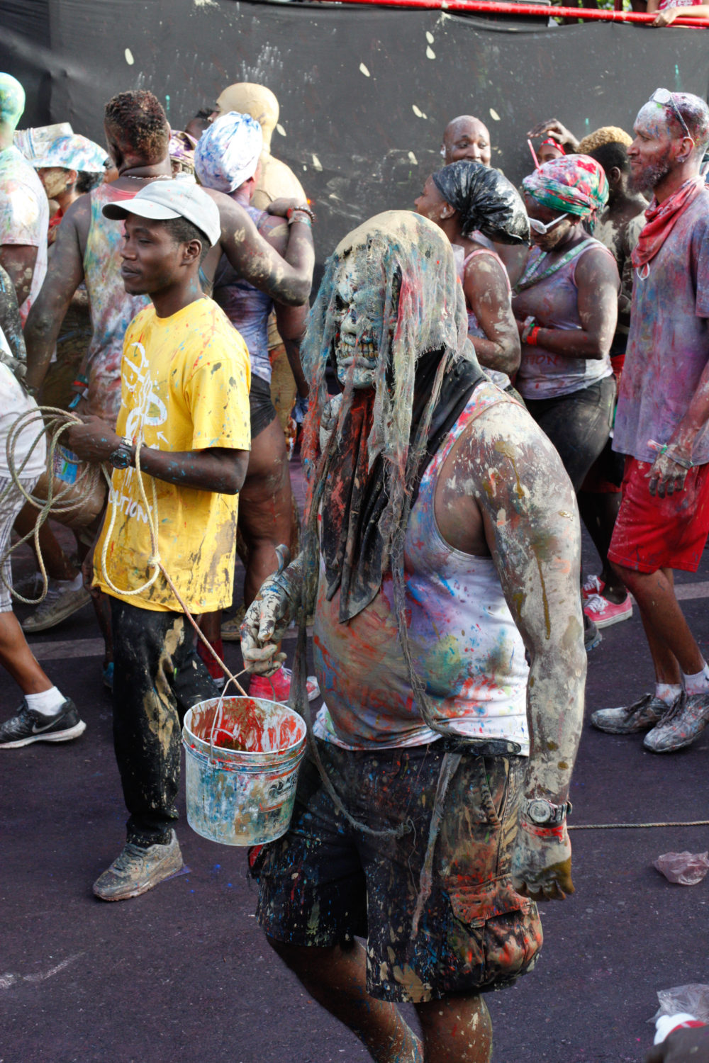Some kind of J'Ouvert creature