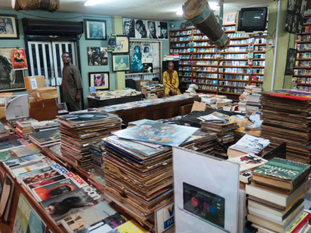 Kunle Tejuosho's shop, the Jazzhole