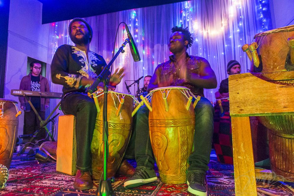 Kotoko Brass live at The Grange.