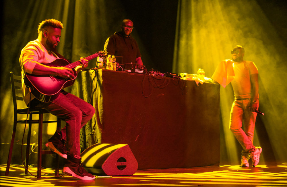 Maitre Gims and Haile at Terminal 5