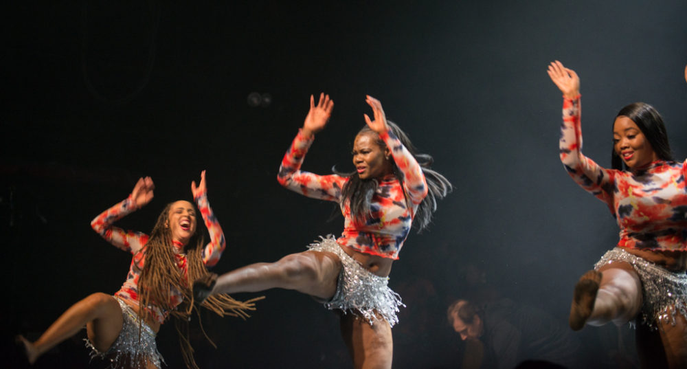 Les Gazelles Africaines II, one of six opening acts at Maitre Gims's Terminal 5 show