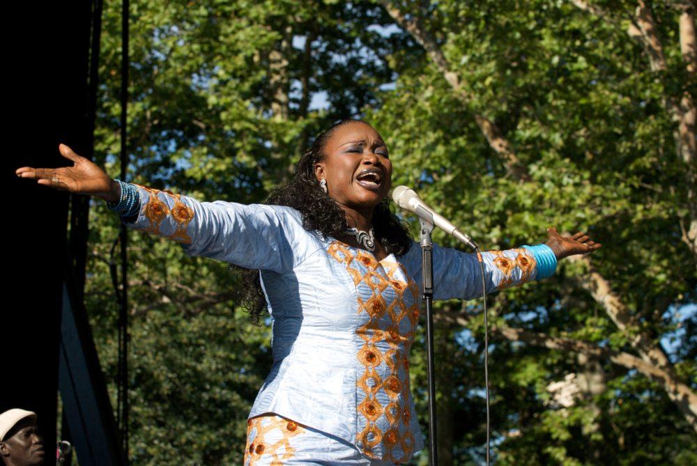 Oumou Sangaré, Central Park Summerstage (Eyre 2010)