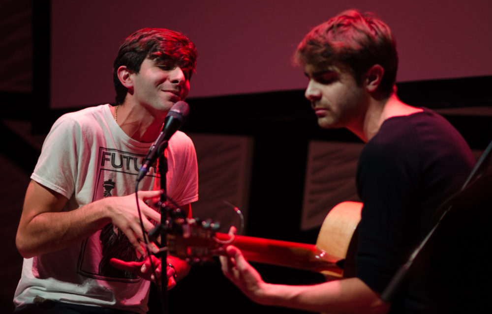 Patrick and Daniel Lazour at National Sawdust (Eyre 2020)