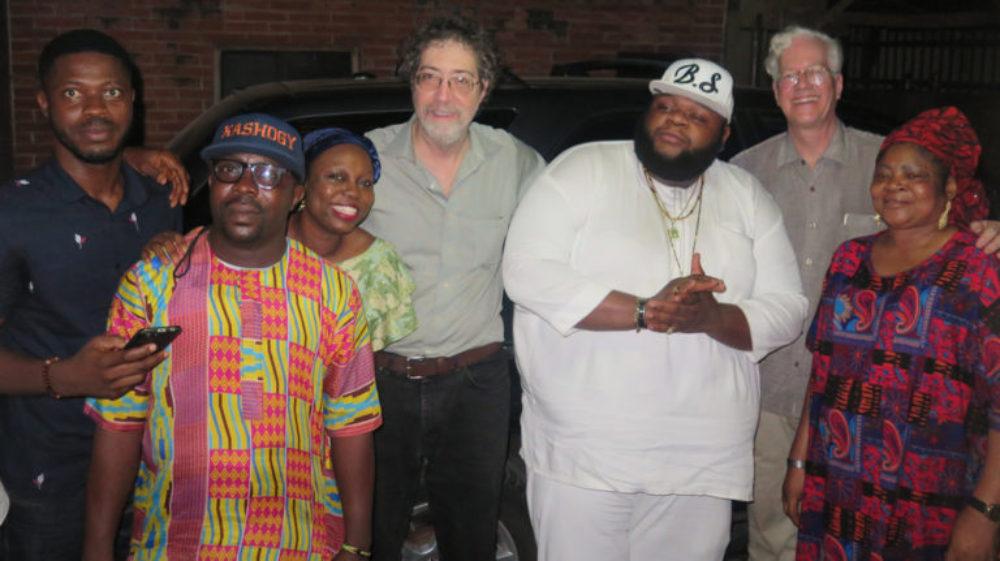 Salawa Abeni and Afropop Team, plus Big Shef!  Salawa's son is a rapper known as Big Shef.