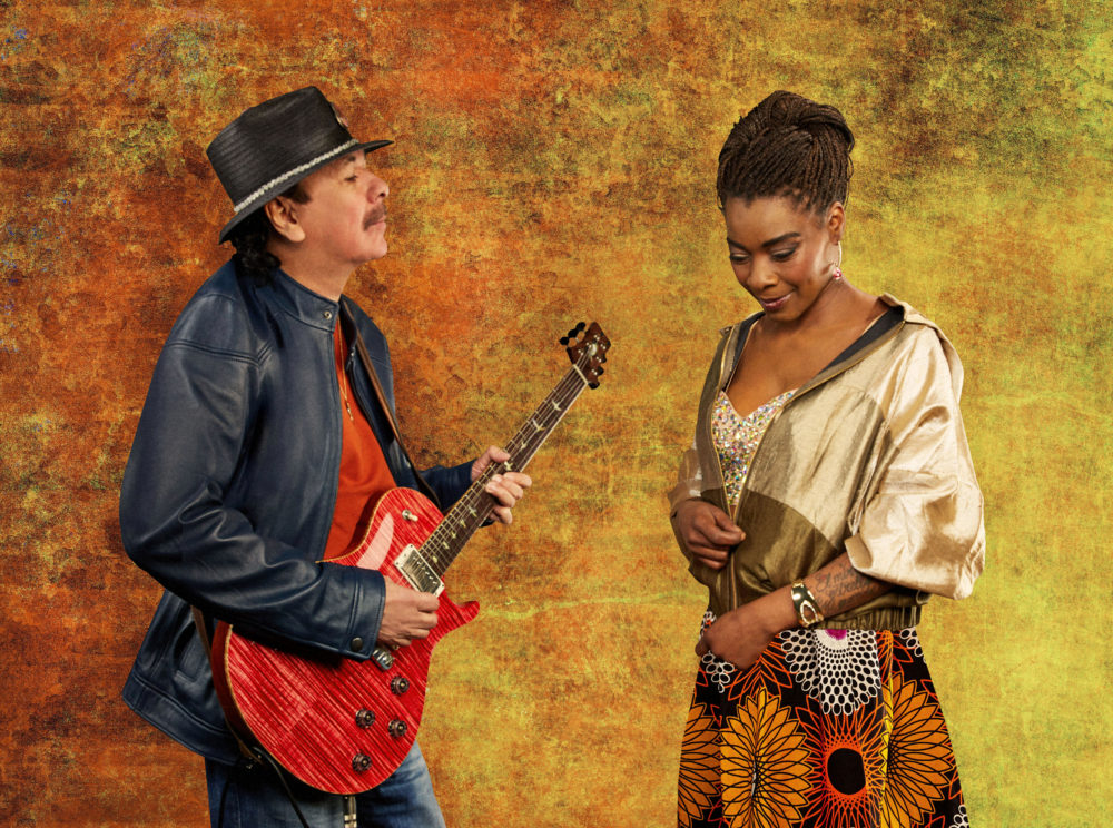 Santana and Buika. Photo: Maryanne Bilham