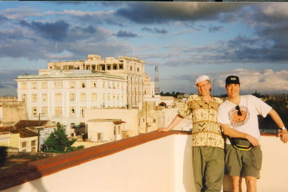 Banning Eyre, Sean Barlow, Cinfuegos, Cuba, 2001