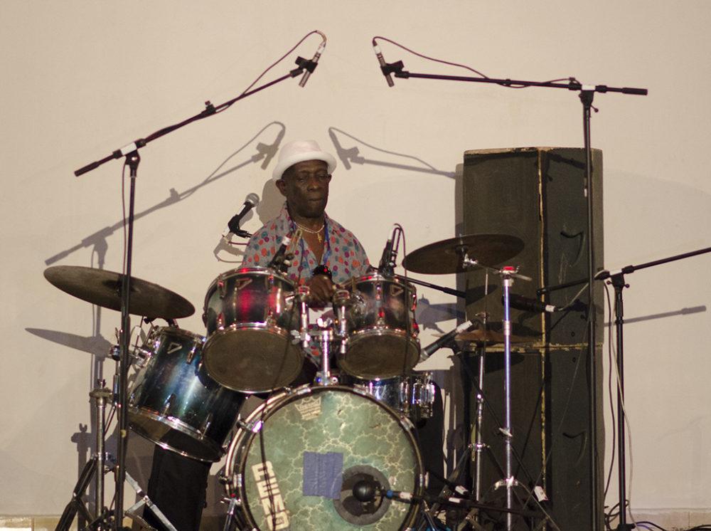 Tony Allen in Bamako, Mali (Eyre 2016)