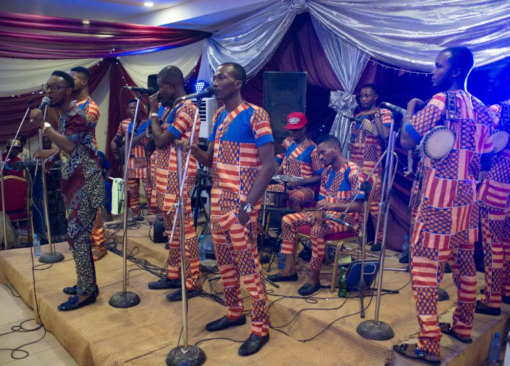 Timmy Wonder at memorial gig in Lagos