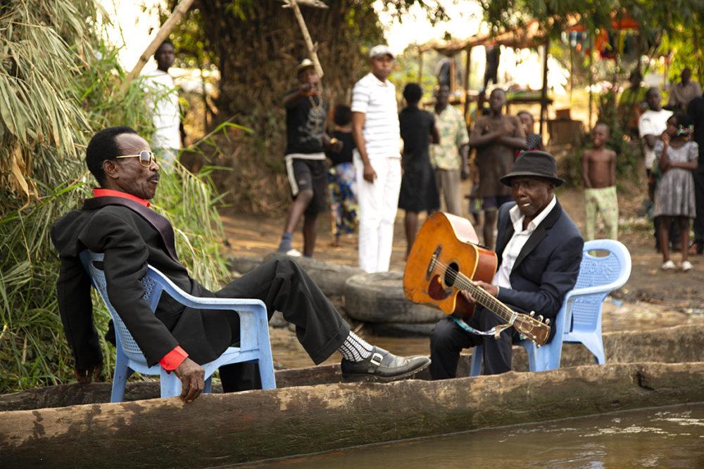 Kuka Mathieu and Bikunda Kinshasa