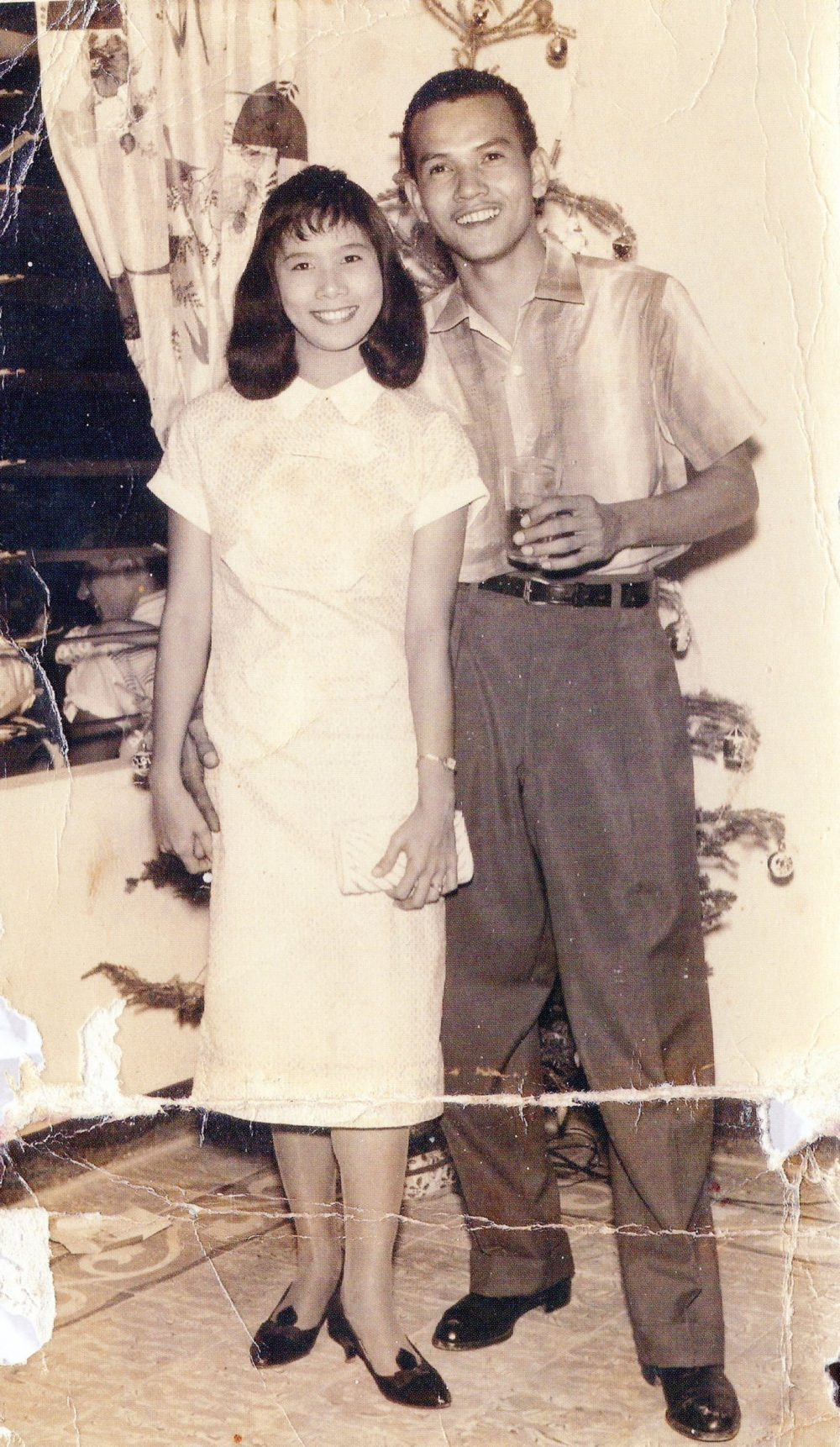Victor and Patricia Chin, early '60s