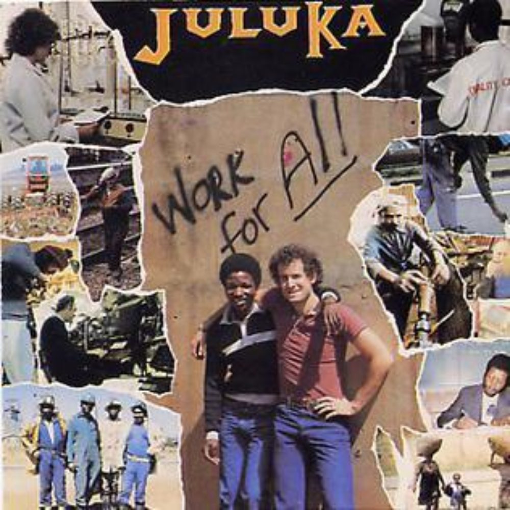 Juluka's sixth album, as released in South Africa