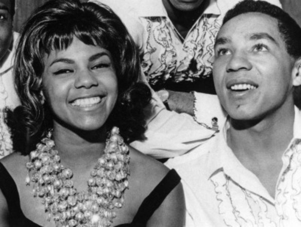Claudette and Smokey Robinson