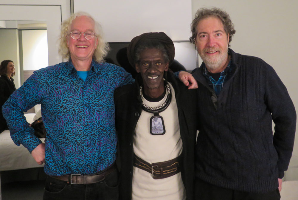 Banning Eyre, Cheikh Lo, Sean Barlow. Watch this space for our interview with the man!
