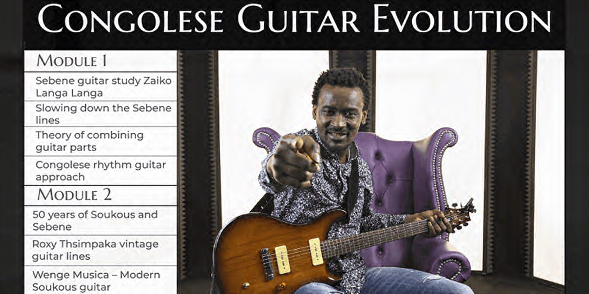 Learning Congolese Guitar