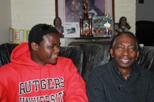 Mhoze Chikowero and Thomas Mapfumo