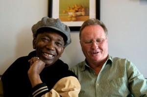 Thomas Mapfumo and Simon Bright (Eyre 2012)