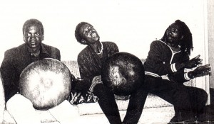 Mapfumo's early mbira players, 1984