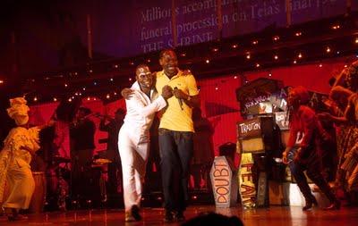 Fela! The Broadway musical in Lagos