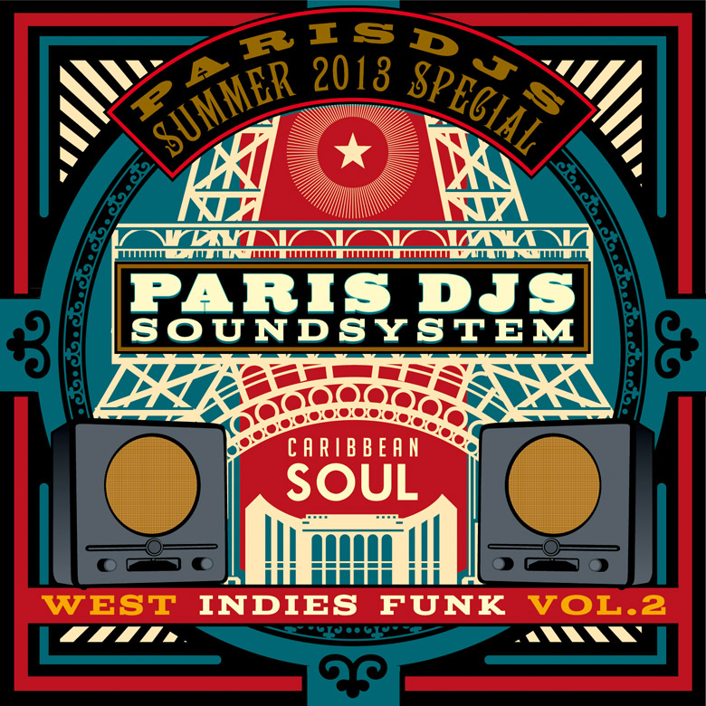 Paris DJs Soundsystem - West Indies Vintage Funk Vol.2
