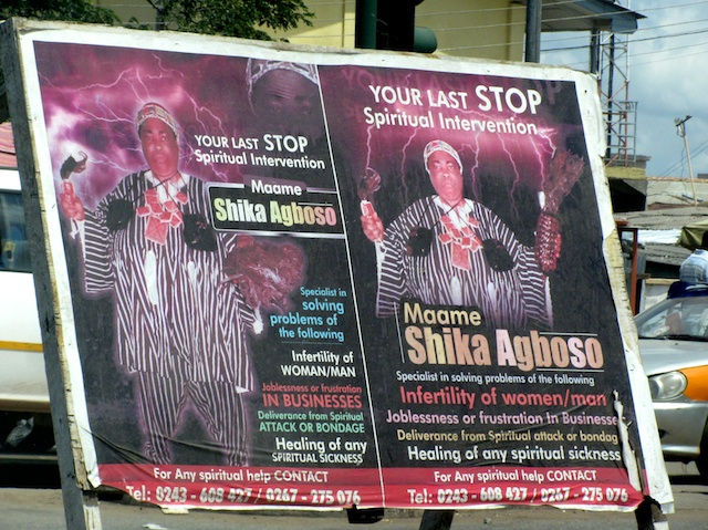 Accra street posters (Eyre 2013)