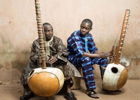 Toumani Diabaté and Sidiki Diabaté Perform (and Record!) Together