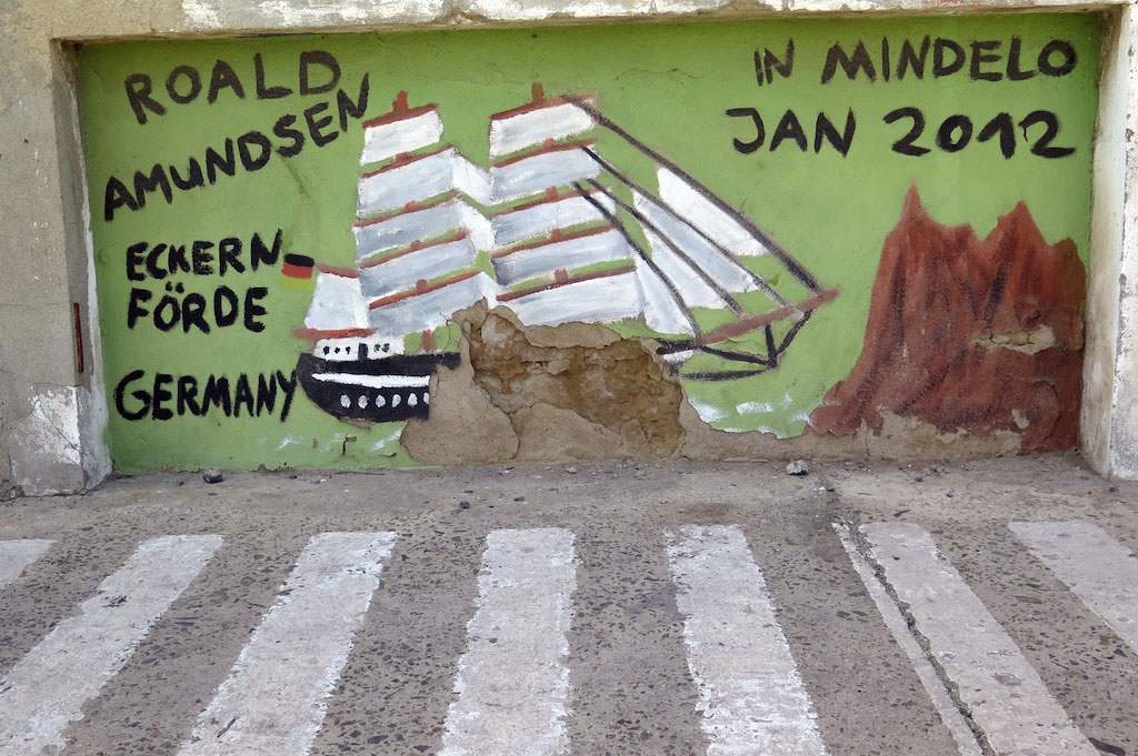 On to Mindelo, birthplace of Cesaria Evora and the musical heart of Cape Verde--on the island of Sao Vicente.