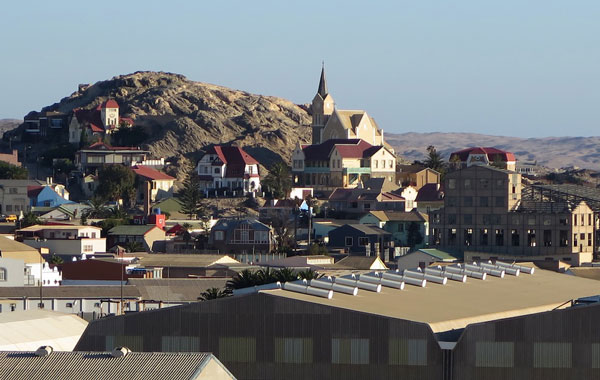 Luderitz, Namibia--Germany meets Africa!